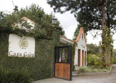 Ingreso al Hotel Casa Gaia